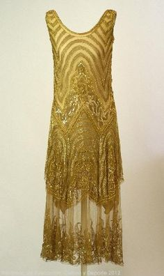1920-1930 Deco Dress. @designerwallace