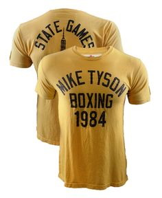 Roots of Fight Mike Tyson NY State Games 1984 Shirt