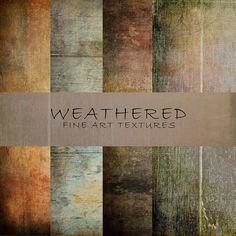 Check out Weathered Fine Art Textures by 2 Lil Owls Studio on Creative Market