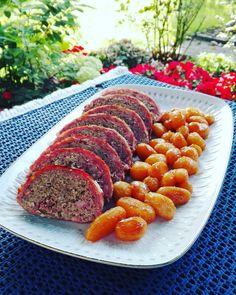 Danish Food, Ratatouille, Meatloaf, Sliders, Creme, Cupcake Cakes, Food And Drink, Pork, Cooking Recipes