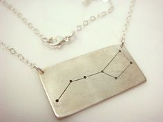 Big Dipper Constellation Necklace by willajunejewelry on Etsy, $45.00