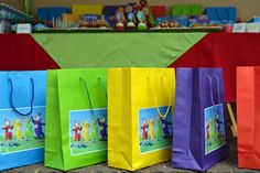 Teletubbies Party Favour Bags