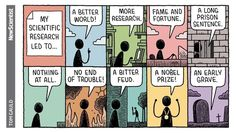 "542 Me gusta, 3 comentarios - Tom Gauld (@tomgauld) en Instagram: ""For New Scientist #tomgauld #cartoon #science"""