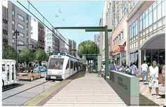 M-1 Light Rail Project   Slated for completion in 2015