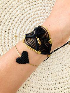 Macrame Bracelet Diy, Macrame Rings, Lace Bracelet, Macrame Jewelry, Macrame Patterns, Hippie Style, Handcrafted Jewelry, Jewelry Collection, Tassels