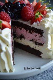 Kirsin keittiössä: Mehevä suklaakakku