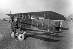 """This day in history (April 29, 1918): Captain Eddie Rickenbacker, the leading US ace of WWI, shot down his first airplane. Fast Eddie's first love was fast cars, and only made the switch from racing to aviation after repairing a car carrying Col Billy Mitchell. Rickenbacker downed 26 enemy aircraft in the European Theatre and was named Commander of the 94th """"Hat in the Ring"""" Squadron. He was awarded the Medal of Honor in 1931 by President Herbert Hoover."""