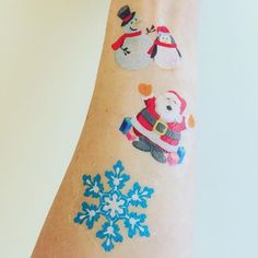 Order Waterless Temporary Tattoos now for the holidays www.directweb2print.com #christmas #funforkids #eventplanningfun