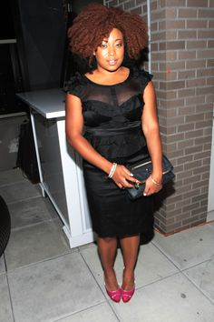 #sochic: 'A Belle in Brooklyn' author Demetria Lucas perfects the LBD. #chicrebellion