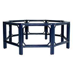 Regeant Octogon Coffee Table w/Glass | Coffee | Tables | Selamat Designs | Interior Design Ideas