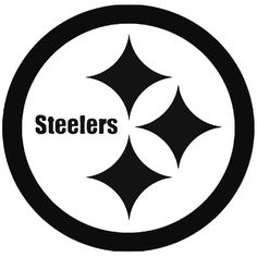 printable pittsburgh steelers logo nfl logos pinterest rh pinterest com Pittsburgh Steelers Logo Wallpaper Cool Steelers Logos