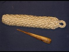 Rope fender (traditional) - YouTube