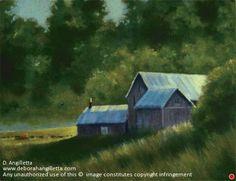 Morning Heat by Deborah Angilletta Oil ~ 12 x 16