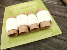 Get step-by-step instructions for making easy, inexpensive toilet paper roll seed tape from HGTV Gardens. This craft is perfect for kids.