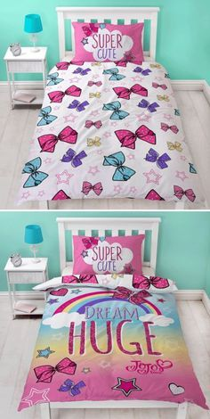 Never has a Duvet Cover been so coveted! Find out where you can but the Jojo Siwa Bedding from!