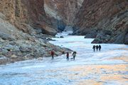 Will be walking the chadar in February
