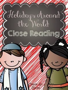 There are ten nonfiction reading passages based on ten cultures/nations holiday celebrations. I've written each passage on three different reading levels to make differentiation a little easier. There are also three sets of questions for each set of passages that promotes critical thinking.