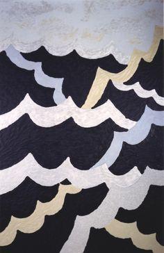#estherramos #arte #pintura #cuadro #pigmento #latex #tela #lienzo #Atada al mástil