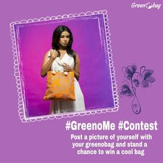 #GreenoBag #GreenoMe contest alert