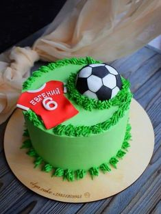 Football Birthday Cake, Soccer Birthday Parties, Soccer Party, Soccer Ball Cake, Sports Themed Cakes, Mango Cake, Sport Cakes, Best Chocolate Cake, Cake Decorating Tips