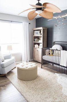 Baby nursery black furniture gray new Ideas