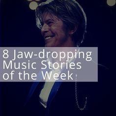 8 Jaw-dropping Music Stories of the Week (1/16) #DavidBowie #Aaliyah #LLCoolJ #CelineDion #MaryJBlige