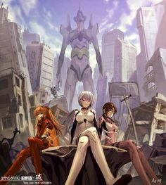 The Blast: picture Evangelion past by As109