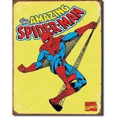Spider-Man Retro - Vintage Tin Sign