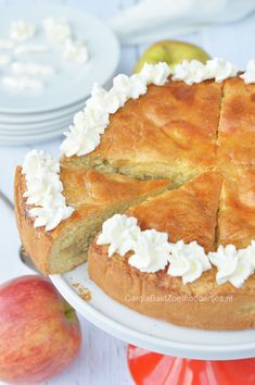 Ierse Appeltaart van Yvette van Boven Irish apple cake a recipe of Yvette van Boven Irish Recipes, Apple Recipes, Baking Recipes, Sweet Recipes, Cake Recipes, Recipe Using Apples, Apple Pie Cake, Sweet Bakery, Sweet Pie