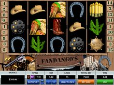 Fandango's - http://freeslots77.com/fandangos/ - This time, Pragmatic Play will take you to a thrilling journey back in time where you could enjoy a glimpse of Wild West with its Fandango's slot game. The 5-reel and 15-payline online slot machine come with free spins and bonus game that will help you win some handsome cash prizes. You cannot...