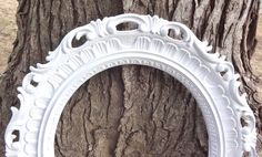 Large ORNATE Oval Picture Photo Prop Nursery Pick by melissap6908