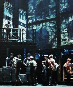 Newsies!!!! Someday I will see the Broadway show!