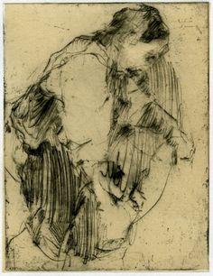Robert D'Arista, ''Bending Figure'' 1980