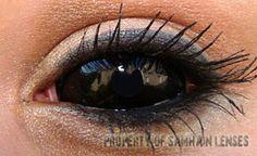 'Black Sclera' (Samhain Contact Lenses)