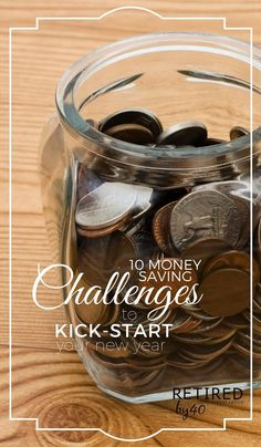 Money Saving Challenges are classic, much like New Year's Resolutions. You want to spend less, save more, and use the new year to shape up your waistline and/or your finances.