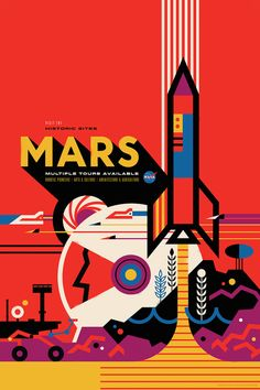 NASA Just Released 11 Stunning Posters Revealing the Beautiful Future of Space…