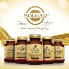 Solgar - Vitamins, Herbals & Supplements