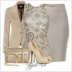 CHATA'S DAILY TIP: Paisley is a print that seems to never go out of style! Wear a paisley top with a light summer suit for the ultimate office chic look. A sleeveless top works if you have go…