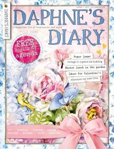 Daphne's Diary Magazine Issue 2 DIY Vintage Garden Recipes Herb Booklet 2020 UK for sale online Daphnes Diary, Vintage High Tea, Valentines Gift Box, Traditional Books, Leather Bound Journal, Gardening Magazines, Paper Cutting, Mini, Inspiration