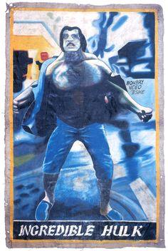 Hulk  Ghana Film Poster