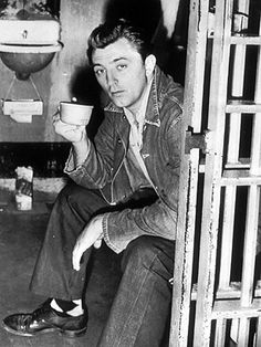 Today 2-25 in 1949, actor Robert Mitchum was released from a Los Angeles County prison after spending the final week of his two-month sentence for marijuana possession there.