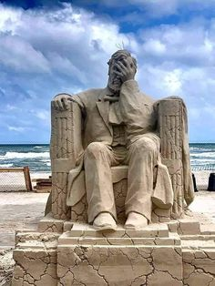 Tagged with funny, art, awesome, beautiful; The winning sand sculpture at the Texas Sand Sculpture Festival, Ice Sculptures, Sculpture Art, Texas, Ice Art, Sand Art, Making Out, Cool Art, Street Art, Funny Pictures