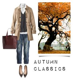 Autumn Classics by bluehydrangea on Polyvore featuring polyvore, fashion, style, J.Crew, Uniqlo and Madewell