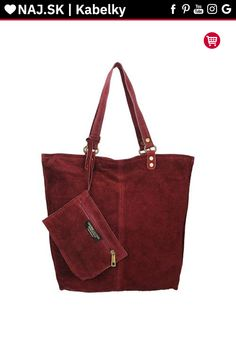 Kabelka shopper Vera Pelle MIEDŹ KR-024 RED-005 Michael Kors, Tote Bag, Red, Bags, Fashion, Handbags, Moda, Fashion Styles, Totes