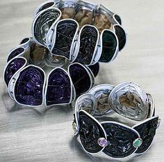 Uit het thema Moederdag het knutselidee: Armband van Nespresso cups