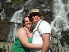 Chet and I at Amocalola Falls