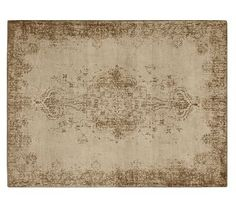 Fallon Persian-Style Printed Rug #potterybarn http://www.potterybarn.com/products/fallon-tufted-wool-persian-style-rug-neutral/?pkey=call-rugs&