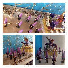 Representación de una procesión de Semana Santa. Capuchinos y pasó de Jesús Nazareno. Niños de 4 años. Colegio Nuestra Sra. Santa María. Madrid