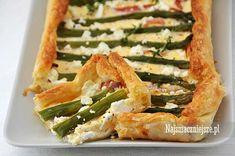 Tarta z zielonymi szparagami Zucchini, Vegetables, Food, Pies, Essen, Vegetable Recipes, Meals, Yemek, Veggies