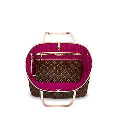 Neverfull MM +Monogram Canvas - Handbags | LOUIS VUITTON